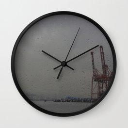 Seabus window Wall Clock