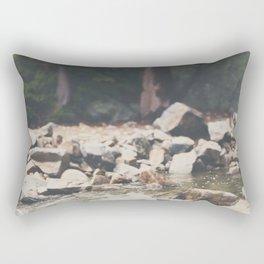 Lake Tahoe mountain river photograph Rectangular Pillow
