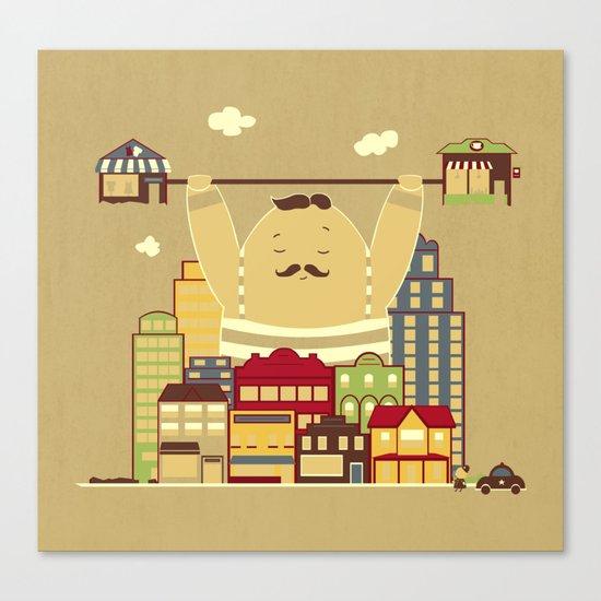 Shoplifter! Canvas Print