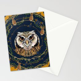 Woodland Owl Stationery Cards