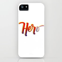 HER-o iPhone Case