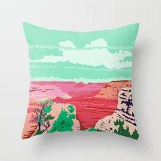 Grand Canyon Arizona WPA Throw Pillow