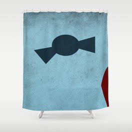The Second Doctor Shower Curtain