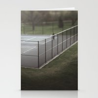 tennis Stationery Cards featuring Tennis by James Lyle