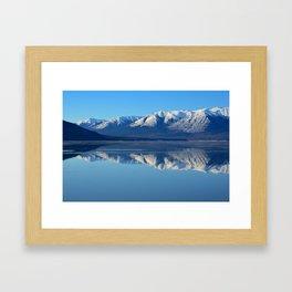 Turnagain Arm Mirror - Alaska Framed Art Print