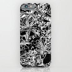 Black/White #1 Slim Case iPhone 6s