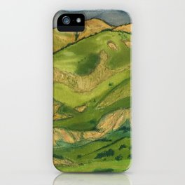 Southern California Hills iPhone Case