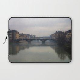 Bridge Gap Over Arno Laptop Sleeve