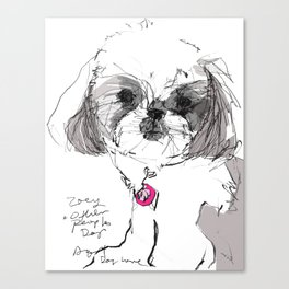 OPD Zoey Canvas Print