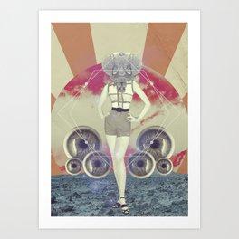 UNIVERSOS PARALELOS 003 Art Print