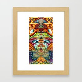 Totemic Framed Art Print