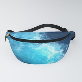 Ocean Blue Waves Fanny Pack