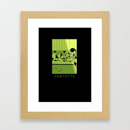contatto Framed Art Print