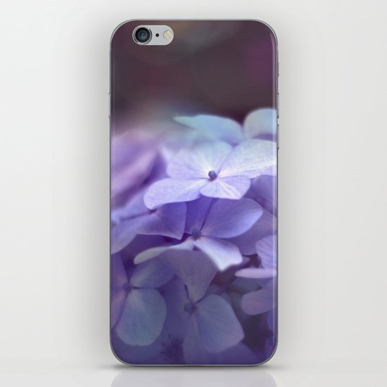 butterflies flower iPhone & iPod Skin