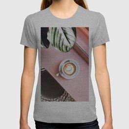 pink latte T-shirt