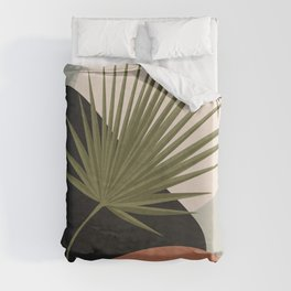 Tropical Leaf- Abstract Art 5 Duvet Cover