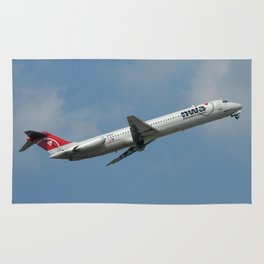 Northwest Airlines DC-9-51 Rug