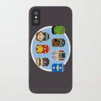 avenger iPhone & iPod Cases featuring Pixel Art - Avenger parody by Cloudsfactory