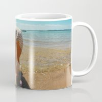 booty Mugs featuring Beach Booty by Anthony Leo Photography