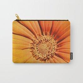 Orange Gazania Carry-All Pouch