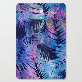 Waikiki Tropic {Blue} Cutting Board