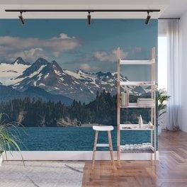 Kachemak_Bay Mountains - Alaska Wall Mural