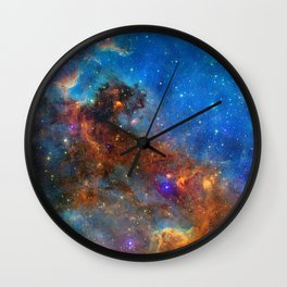 North America Nebula Wall Clock