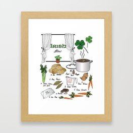 Irish Stew Framed Art Print