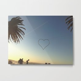 The Heart of Cape Town Metal Print
