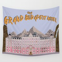 avenger Wall Tapestries featuring THE GRAND BUDAPEST HOTEL by Kaitlin Smith