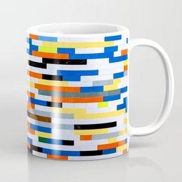 Building Blocks Pattern Multicolor  Coffee Mug