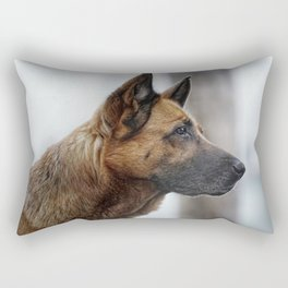 A German Shepherd Rectangular Pillow