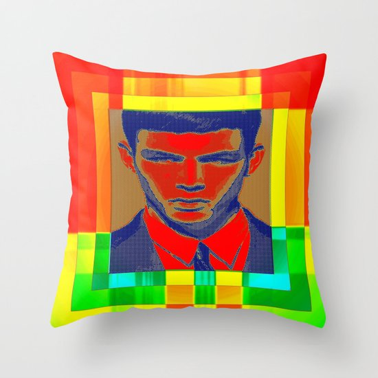 necktie Throw Pillow