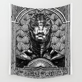 The Shape of Water Wall Tapestry