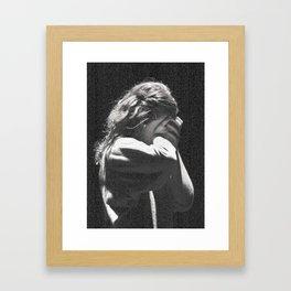 LoveBlind Framed Art Print