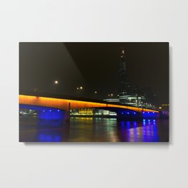 London Bridge and the Shard Metal Print