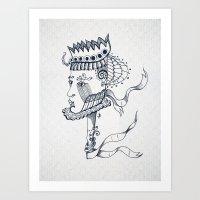 The Nobleman Art Print
