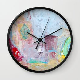 A delicious afternoon Wall Clock