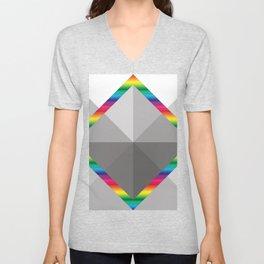 MultiSquare Prism Unisex V-Neck