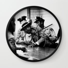 Remembering African American History & Martin Luther King Wall Clock