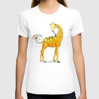 giraffe T-shirts featuring Giraffe by gunberk