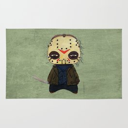 A Boy - Jason ( Friday the 13th) Rug