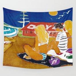 Rainbow Beach,Qld. AUSTRALIA            by Kay Lipton Wall Tapestry