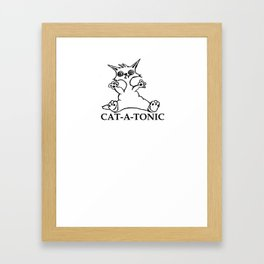 Cat-a-Tonic Framed Art Print