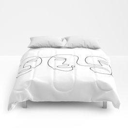 Line Carnival Comforters
