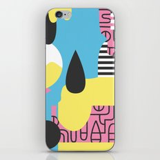 Flumesia iPhone & iPod Skin
