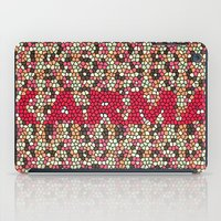 karma iPad Cases featuring kARMA by thecatalyst