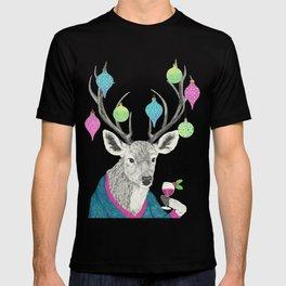Mr. Deer gets festive  T-shirt
