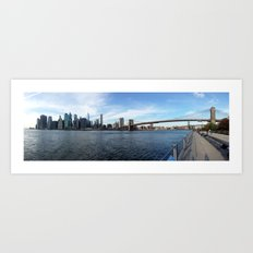 Manhattan Art Print