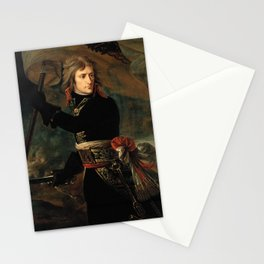 Bonaparte at the Pont d'Arcole - Antoine-Jean Gros Stationery Cards
